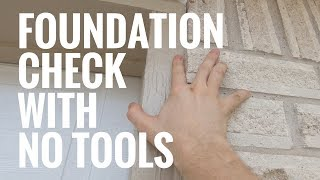 How to Find Foundation Issues