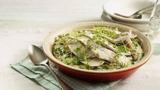 Marco Pierre White recipe for Roast Chicken and Pea Risotto