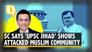 Media Cannot Target a Community: Justice Chandrachud Slams Sudarshan News | The Quint - Download this Video in MP3, M4A, WEBM, MP4, 3GP