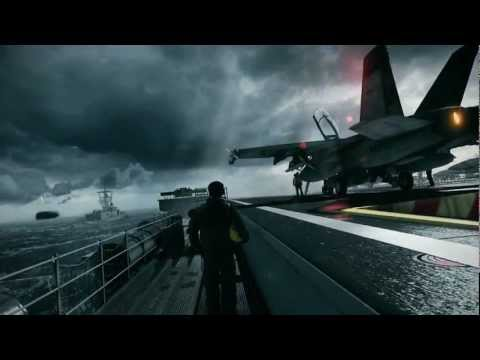 Battlefield 3 F18 Hornet Mission HD Full Mission Mp3