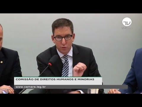 Direitos Humanos e Minorias - Fundador do The Intercept Brasil, Glenn Greenwald