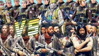 Far Cry 5 - Cult Army VS Resistance Army! - Arcade Battle