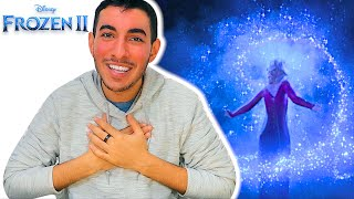 """Real Disney Fan Reacts to """"INTO THE UNKNOWN"""" Music Video Reaction 