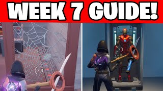 ALL WEEK 7 CHALLENGES GUIDE FORTNITE CHAPTER 2 SEASON 4