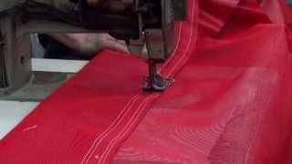 Manufacturing a Mesh Flip Tarp