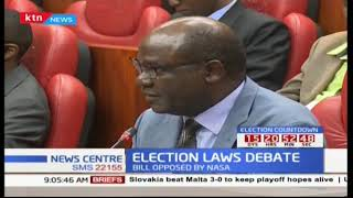 ELECTION LAWS DEBATE: Amendment bill returns to plenary