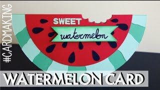 Sweet Watermelon card