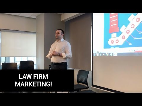 Law Firm Marketing Part 5 of 7