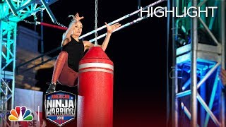 Nastia Liukin's Ninja Warrior Run for Red Nose Day - American Ninja Warrior 2018 - Video Youtube