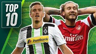 Die Top 10 Outlaws Des Fußball! Legat Greift Mit Samuraischwert An & Bendtner Peitscht Ein Taxi Aus!