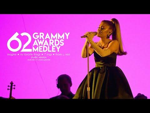 Ariana Grande - 2020 Grammy Awards Medley (Studio Version)