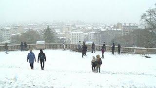 Зимняя сказка в Париже