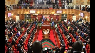 More chaotic scenes in Parliament as Speaker Muturi leads house business