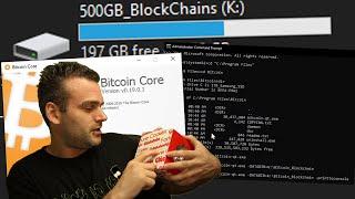 Bitcoin Core: Data Directory of Old Hard Drive with Bitcoin Blockchain Configuration
