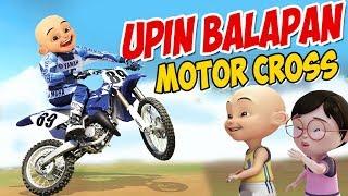 Upin Ipin Balapan Motor Cross , Ipin Senang ! GTA Lucu