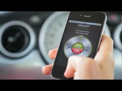 Video of iSmartGate -Open garage door-