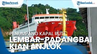 Penumpang Kapal Rute Pelabuhan Lembar-Padangbai Alami Penurunan Drastis sejak 3 Tahun Terakhir