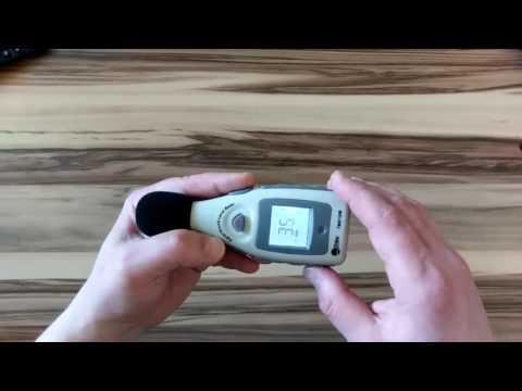 GOCHANGE LCD Schallpegelmessgerät, Schallpegel Messgerät oder Smartphone App