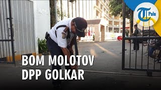 Agung Laksono Minta Polisi Ungkap Pelaku Pelempar Bom Molotov