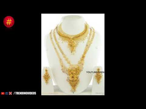 Latest Bridal Antique Long Haram Designs With Weight