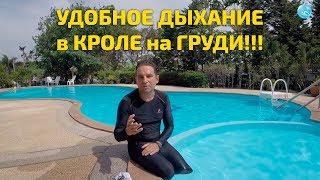 Плавание кролем - как дышать просто и легко!