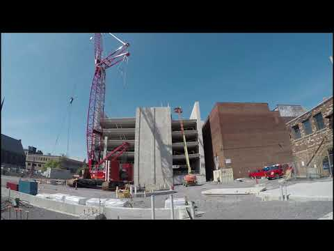 500 Pearl Parking Garage Timelapse