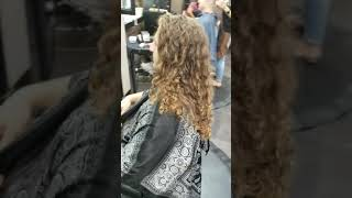 Mens Haircut Long Curly Hair To Short Hair