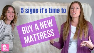 5 Ways to Know it's Time for a New Mattress!
