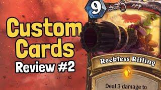 Top Custom Legendary Spells   Review #2   Hearthstone
