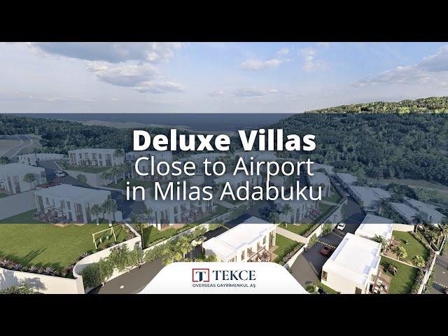 Deluxe Villas Close to Airport in Milas Adabuku