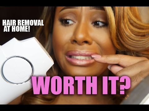 UPDATE:  Laser Hair Removal At Home!! Does it Work!?