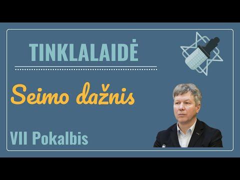 """Tinklalaidė """"Seimo dažnis"""". Su dr. Algimantu Kasparavičiumi"""
