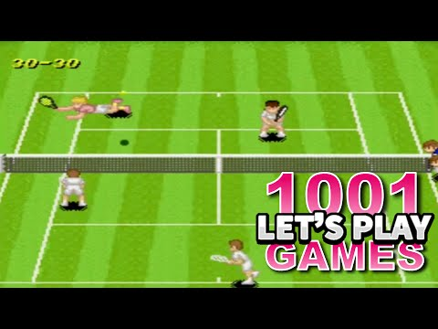 Super Tennis (SNES) - Let's Play 1001 Games - Episode 37