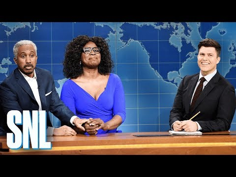 Weekend Update Oprah Winfrey And Stedman Graham Snl