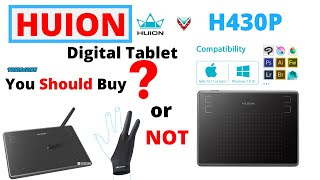 drawing tablet huion h430p - TH-Clip