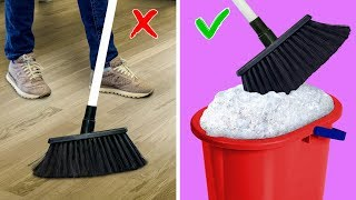 25 Smart Household Hacks You Cant Miss / Brilliant Cleaning Tips