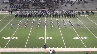TMHS Roarin' Blue Band - Silver Stars - Ain't Nothing Wrong With That - 11-14-13