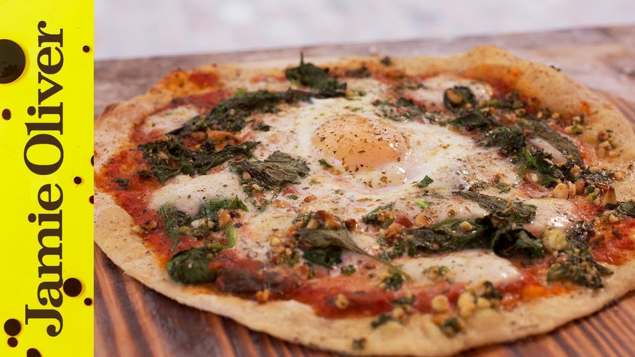 Dinner Party Ideas Jamie Oliver Part - 15: Superfood Pizza