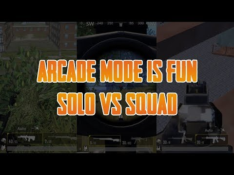 Arcade mode is fun | PUBGM(Emulator) | Camping Gameplay
