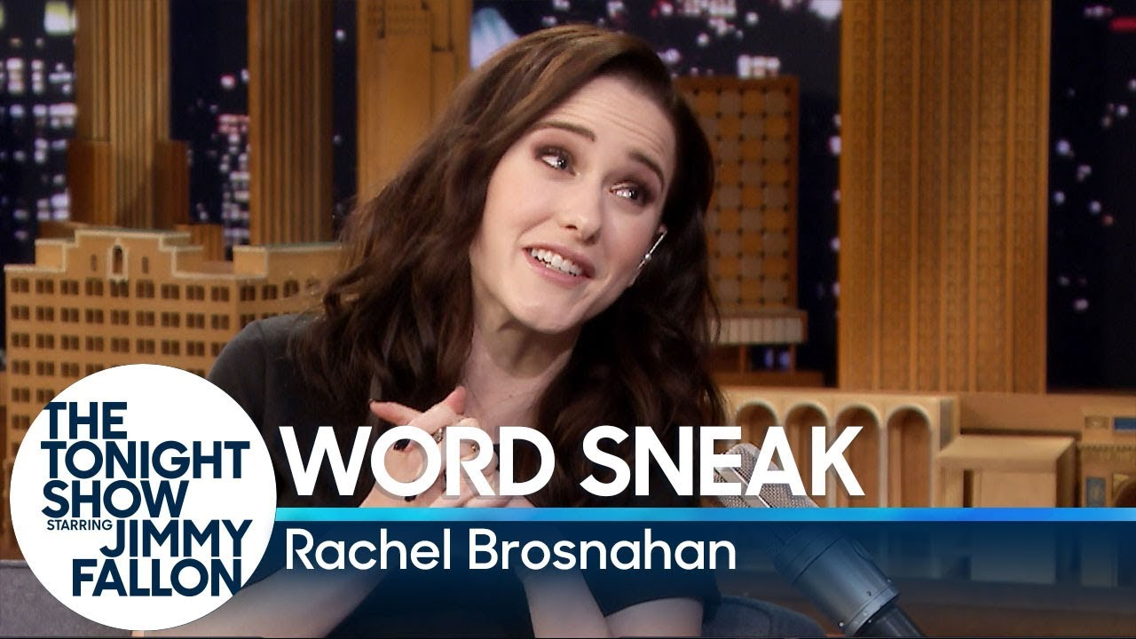 Word Sneak with Rachel Brosnahan thumbnail