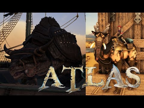 Atlas Season 2 #4 ~ Giant Tortugar, Olfend & More With New Patch