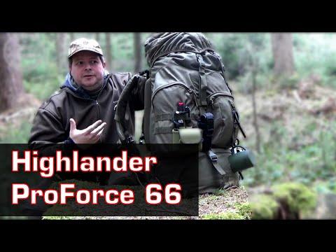 Highlander Rucksack ProForce 66 Test - Die TOP Alternative zum BW Rucksack /Fluchtrucksack?