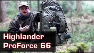 Rucksack Highlander ProForce 66 Test - Die TOP Alternative zum BW Rucksack /Fluchtrucksack?
