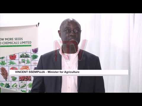 Agriculture Minister launches seed-sorting machine