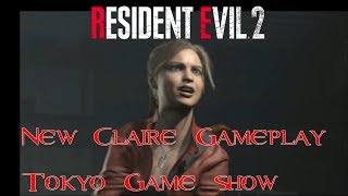 Resident Evil 2 Remake - Claire NEW Gameplay - Tokyo Game Show 2018!
