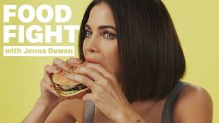 Jenna Dewan Reviews Vegan Fast Food | Food Fight | Women's Health