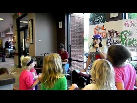 Fun To Be Fit Kids show at Chick-fil-A