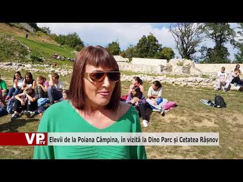 Elevii de la Poiana Câmpina, în vizită la Dino Parc și Cetatea Râșnov