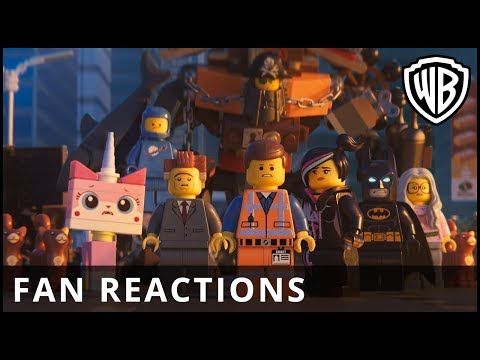 The LEGO Movie 2 - Fan reactions - Official Warner Bros. UK