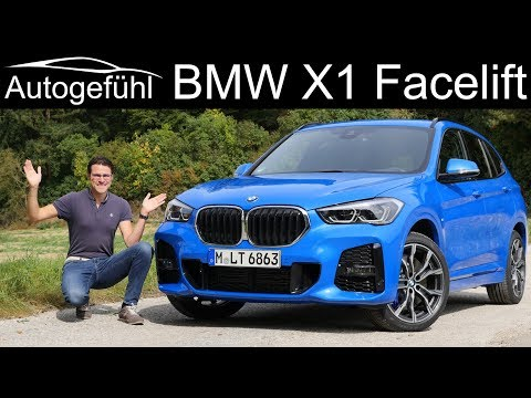 BMW X1 Facelift FULL REVIEW M Sport 25i 28i - Autogefühl